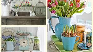 Spring Decorating Farmhouse Spring Decor Ideas Rustic Spring Vignettes Spring