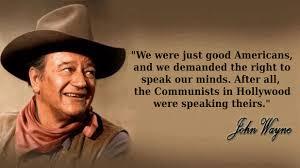 Graphic Quotes: John Wayne on Free Speech | Independent Film, News ...