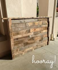 Diy Wood Headboard Hanging Up The Headboard Diy Wooden Cleat Loving Here Upholstered