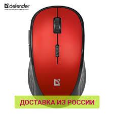 Компьютерная <b>мышь Defender Accura</b> MM-275 красный,6 кнопок ...