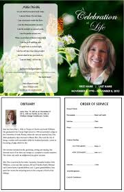 best images about printable funeral program templates on create an everlasting keepsake of your loved one edit the template easy print ready borderless x 11 paper for microsoft word trial expert support