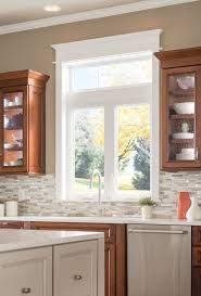 Large Kitchen Window Treatment Kitchen Astonishing Kitchen Window Ideas Treatments Windows For