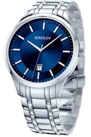<b>Мужские стальные часы SOKOLOV</b> Sokolov купить за 6020 ...