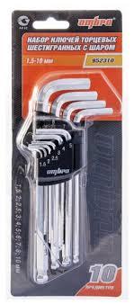 <b>Набор имбусовых ключей</b> Ombra 952310 (10 предм.) — купить по ...