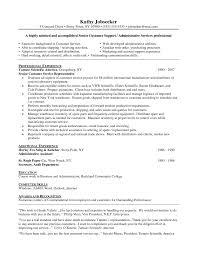 functional resume customer service examples skills examples for    customer service representative resume best resume templates ltt cmsb