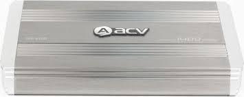 <b>Усилитель автомобильный ACV GX</b>-<b>4.100</b>, четырехканальный