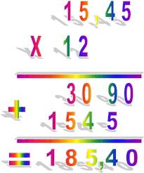 """Résultat de recherche d'images pour """"les multiplication a virgule"""""""