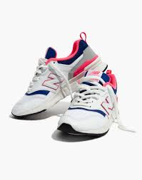 New Balance® 997H Classic Sneakers in <b>Leather</b> and <b>Mesh</b>