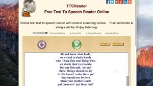 text to speech reader online accurate
