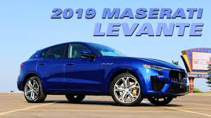 The 2019 <b>Maserati Levante</b> - Test Drive - YouTube