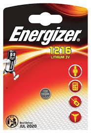 Купить <b>Батарейка Energizer Lithium</b> CR1216, 1 шт с доставкой по ...