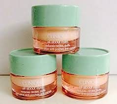 3 X 7ml Clinique All About Eyes Eye Cream Reduces ... - Amazon.com