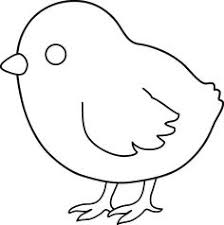 Small Picture Cute Farm Animal Coloring Pages A Hen And Chick Animal Coloring