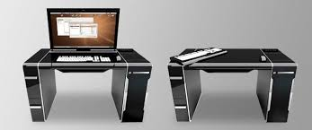 cool modern best computer desk design unique popular interior home office decorations metal plastic wooden gloss computer pullout best computer for home office