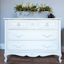 pure white chalk paint chalk painted furniture