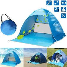 <b>1 2 person</b> Windbreak <b>Portable Pop</b> Up Beach Tent Sun Shade ...