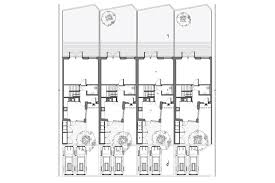 Stirling Prize  Newhall Be   BBC News    Ground floor plan of terrace houses