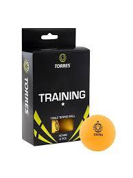 <b>Мяч</b> для настольного тенниса <b>TORRES Training</b> 1*. Комплектность