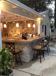 patio outdoor stone kitchen bar: side yard once those puppies are done tearing it uplanai into outdoor kitchen type patio outdoor kitchen bar amp patio cover our little piece