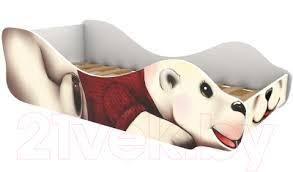 <b>Бельмарко</b> Полярный мишка Умка / 540 Стилизованная <b>кровать</b> ...