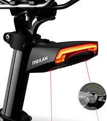MEILAN X5 <b>Smart Bike</b> Tail Light Wireless <b>Turning Signal Bike</b> Light ...