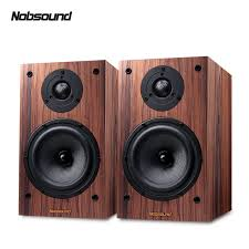 <b>Nobsound DM3 Two Way Wood</b> 120W 1 Pair 6.5 inches Bookshelf ...
