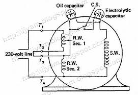 capacitor wiring diagram nilza net on ceiling fan capacitor wiring schematic