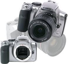 Цифровая камера Canon EOS 300D SLR переходит барьер в ...