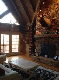 Lodge Living Room Decor Hunting Lodge Design Pictures Remodel Decor And Ideas Love