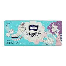 <b>Прокладки</b> ежедневные `<b>BELLA</b>` <b>PANTY</b> for teens Sensitive 20 шт ...