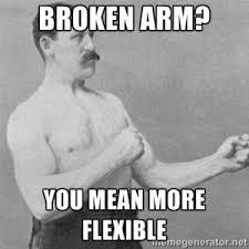 Broken Arm Jokes   Kappit via Relatably.com