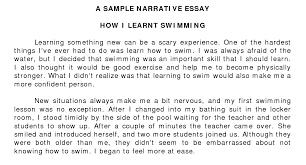 narrative essay example for kids  c c conarrative essay examples