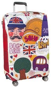 <b>Чехол для чемодана RATEL</b> Travel London S — купить по ...