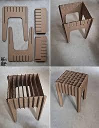 laser cut cardboard cnc cardboard cardboard structures cardboard carton cardboard furniture cardboard stool diy recycle cardboard ideas card board furniture