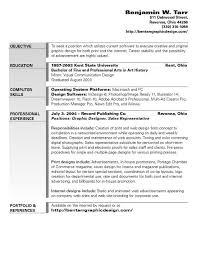 Graphic Design Resume Objectives   Gabriel Boz Graphic Design