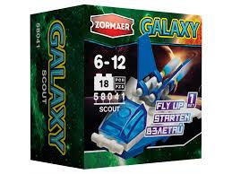 """<b>Конструктор</b> пластиковый <b>Zormaer</b> """"Galaxy. <b>Скаут</b>'', <b>18</b> элементов ..."""