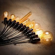 Ретро <b>лампочка</b> эдисона E27 220 В 40 Вт <b>ST64</b> A19 A60 G80 G95 ...