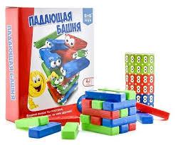 <b>Настольная игра S</b>+<b>S Toys</b> Падающая башня — купить по ...