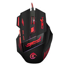 <b>HXSJ H100 Gaming</b> Mouse USB Wired Optical <b>Game</b> Mouse 5500 ...