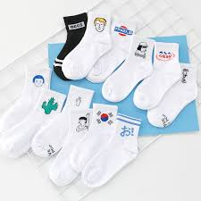 <b>CHAOZHU</b> Korea Japanese fashion funny cartoon causal socks ...