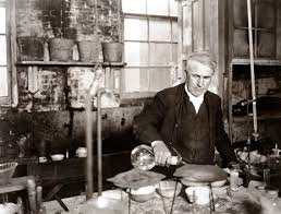 Image result for young thomas edison