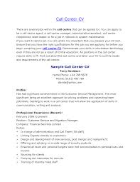 sample resume format for freshers call center job cipanewsletter call centre cv resume for call center job cover letter