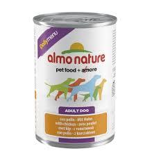"<b>Almo Nature консервы</b> для собак ""Меню с курицей"", <b>Daily</b> Menu ..."