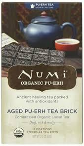Numi Organic Tea Aged Pu-erh, 2.2 Ounce (Pack of 1 ... - Amazon.com