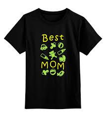 Детская футболка классическая унисекс <b>Best Mom</b> #657235 за ...