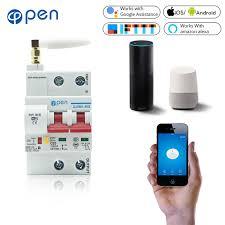 <b>OPEN</b> 2P <b>Remote</b> Control Wifi Circuit Breaker /Smart Switch ...