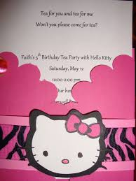 Prepossessing Tea Party Invitation Wording Hats Birthday Party ...