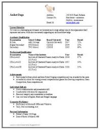 simple one page resume format doc   example good resume templatesimple one page resume format doc