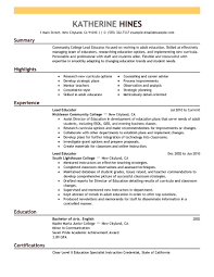 best lead educator resume example livecareer create my resume