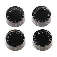 Magideal 4pcs Black <b>Speed</b> Volume Tone <b>Control Knobs</b> for ...